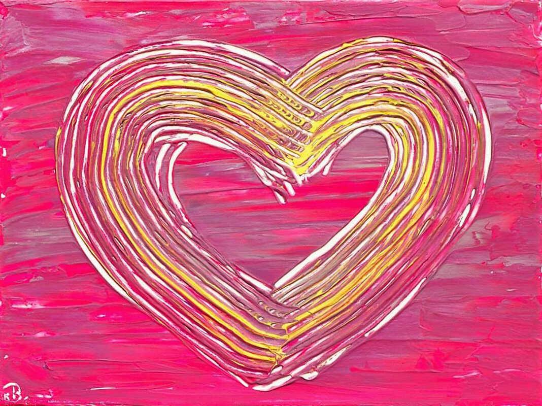 kreatives Herz